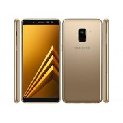 "Samsung Galaxy A8 (2018) Factory Unlocked SM-A530F Dual SIM 32GB 4GB Ram, 5.6"" Screen, 16MP Rear Camera + Dual Frontal Camera 16MP+8MP, IP68, 4G LTE GSM International Version No Warranty (Gold)"