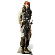 Star Cut Outs Pirates of the Caribbean Captain Jack Sparrow Life Size Cut Out