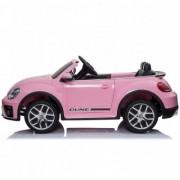 Masinuta electrica Chipolino Volkswagen Beetle Dune pink