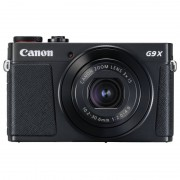 Canon PowerShot G9 X Mark II 20.1MP Preta