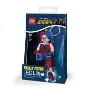 LEGO DC Super Heroes, Breloc cu laterna - Harley Quinn