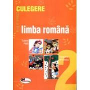 Limba romana. Culegere pentru clasa a II-a