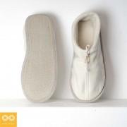 Rawganique Gershwin Glue Free Organic Cotton Fleece House Shoes Slippers RGFT-1747