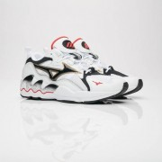 Mizuno wave rider1 og White/Black/Red