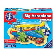 Orchard Toys Big Aeroplane, Multi Color