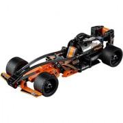 Emob 137 PCS Black Champion Racer King Steerer Block Set with Pull Back Technic (Orange)