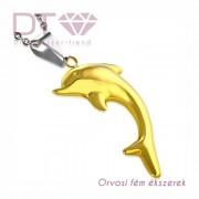 Delphin, orvosi fém medál