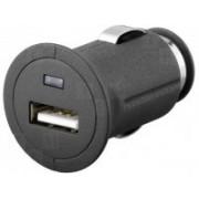 Incarcator auto 12-24vc la USB 5V-1.2A goobay