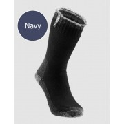 [6 Pack] Holeproof Explorer Young Marle Wool Blend Socks Navy S1140K