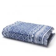 La Redoute Банное махровое полотенце с жаккардом 500 г/м² AZUL