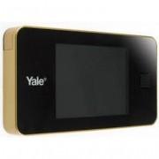 Yale Mirilla Puerta 128X68X15Mm Digital Yale Dorado