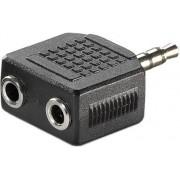 Roline VALUE adapter 1×3.5mm Jack(M) na 2×3.5mm Jack(F), 11.99.4440