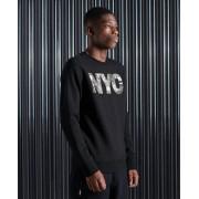 Superdry Vintage Logo Sweatshirt mit NYC-Fotoprint S schwarz