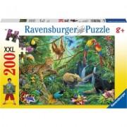 Puzzle jungla, 200 piese Ravensburger