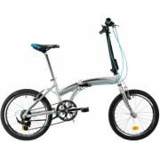 Bicicleta Pliabila Dhs 2095 Gri 20 Inch