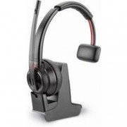 Plantronics Telefonní headset s Bluetooth bez kabelu, mono Plantronics DECT Headset Savi W8210-M USB monaural na uši černá
