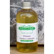 Shampoo Lavanda e Calendula Capelli Secchi