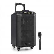 Vonyx VPS10, аудио система PA, 250W, USB / SD порт, Bluetooth, 12V / 4,5Ah, батерия (Sky-170.047)