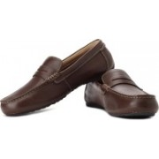 Clarks Marcos Drive Loafers For Men(Brown)
