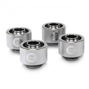 Pachet 4 bucati fitinguri compresie EK Water Blocks EK-ACF 16/10mm Nickel