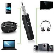 Deals e Unique Car Bluetooth Audio Reciever With 3.5mm Aux 3.0 Hands Free Car Kit Bluetooth Music Receiver Adapter
