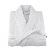 Хавлиен халат за баня LUXURY White - 100% Памук