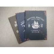 Notebook 24 file motive Navy Nautical Heritage