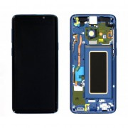 Display Cu Touchscreen Cu Rama Albastra Samsung Galaxy S9 G960 Original