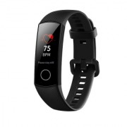 Honor Band 4, amoled touch screen display, meteorite black