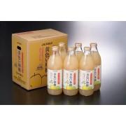 黄色い林檎 りんごジュース(果汁100%ストレート) 1L×6本