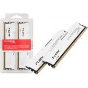 Memorija Kingston 16 GB Kit (2x8 GB) DDR3 1866MHz HyperX Fury White, HX318C10FWK2/16