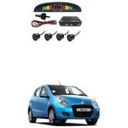 KunjZone Car Reverse Parking Sensor Black With LED Display Parking Sensor For Maruti Suzuki A-Star