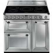 SMEG Tr93ix Cucina 90x60 5 Zone Cottura A Induzione Doppio Forno 123 Litri Class
