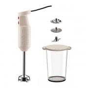 Bodum BISTROSET Set pied mixeur électrique, avec accessoires Blanc crème