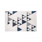 Atmosphera Dekorativní rohože ILAN, 60 x 90 cm, modrý vzor