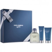Dolce & Gabbana Light Blue Pour Homme lote de regalo I. eau de toilette 125 ml + gel de ducha 50 ml + bálsamo after shave 75 ml