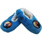 Papuci de casa pentru fetite antiderapanti albastru Disney Frozen marime 25/26