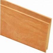 Intergard Planche bois rainure et languette bois exotique Bangkirai 490cm (18x145mm)