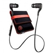 Plantronics Backbeat GO2 Bluetooth Headset - Red