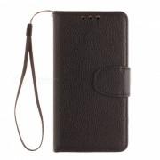 Dayspirit Lychee Grain estilo funda de cuero para Samsung Galaxy A3 (2016)