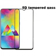 Mascot Max 5D tempered glass full edge to edge cover 9h black glass for Samsung Galaxy M20