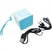 Mini Wireless Bluetooth Music Speaker with Memory Card Support Aux In Port Microphone