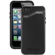 OtterBox COMMUTER WALLET SERIES Case for iPhone 5/5s/SE - Retail Packaging - BLACK