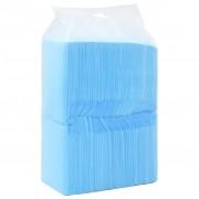 vidaXL Hygienické podložky pre psov 100 ks 90x60 cm netkaná textília