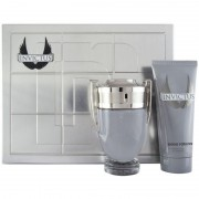Paco rabanne invictus kit idea regalo uomo invictus profumo edt 100 ml + deodorante 150 ml