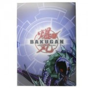 Bakugan Battle Brawlers: BakuBinder - Aquos Cover Card Holder and Exclusive cards