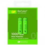 Акумулаторна Батерия R03 AAA 1000mAh NiMH 2 бр. в опаковка GP - GP-BR-R03-1000mA