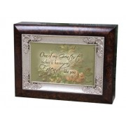Cottage Garden Italian Inspired Music Box - Friend Plays Thats What Friends Are For