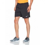 Nike Black Polyester Shorts for Men