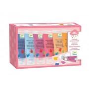 Zestaw 6 farb do malowania palcami SWEET DJECO DJ09000
